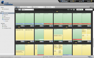 Virtual Publisher Planning View