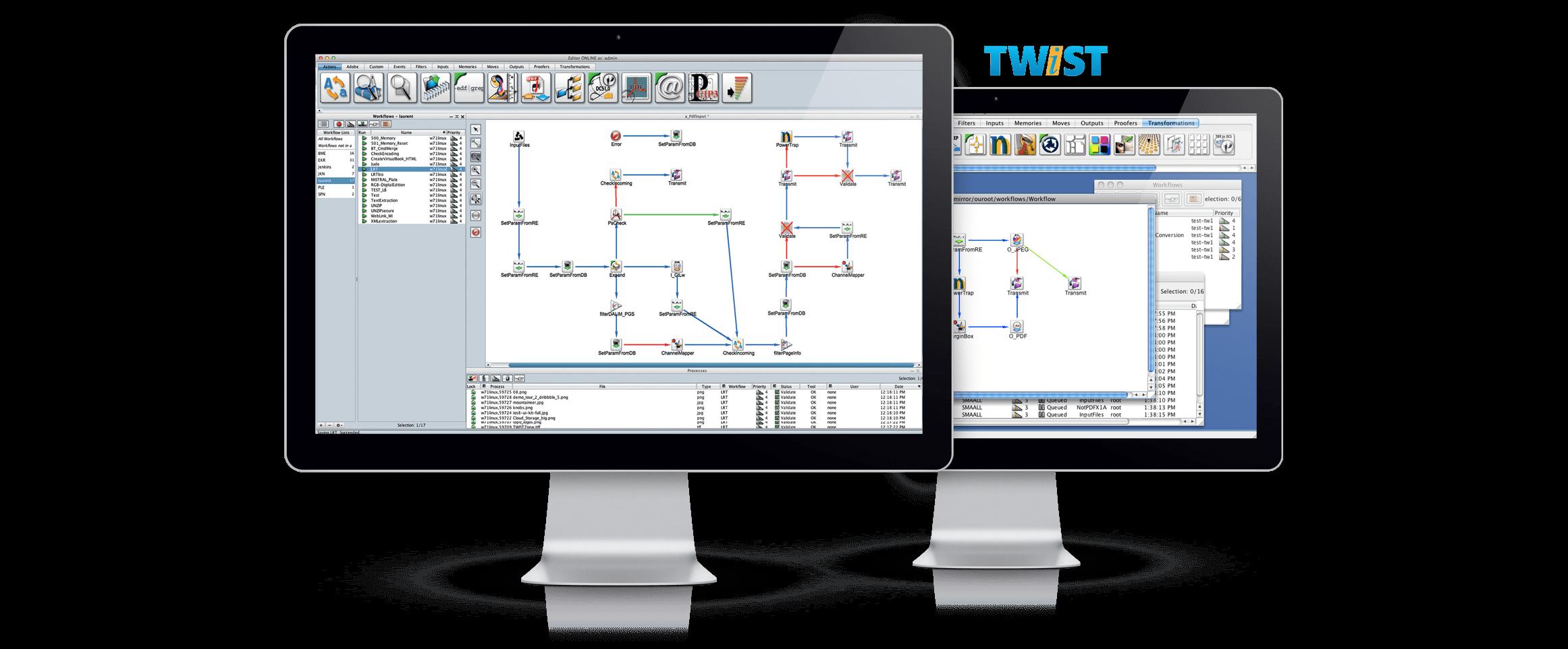 Dalim Twist Automated Workflow