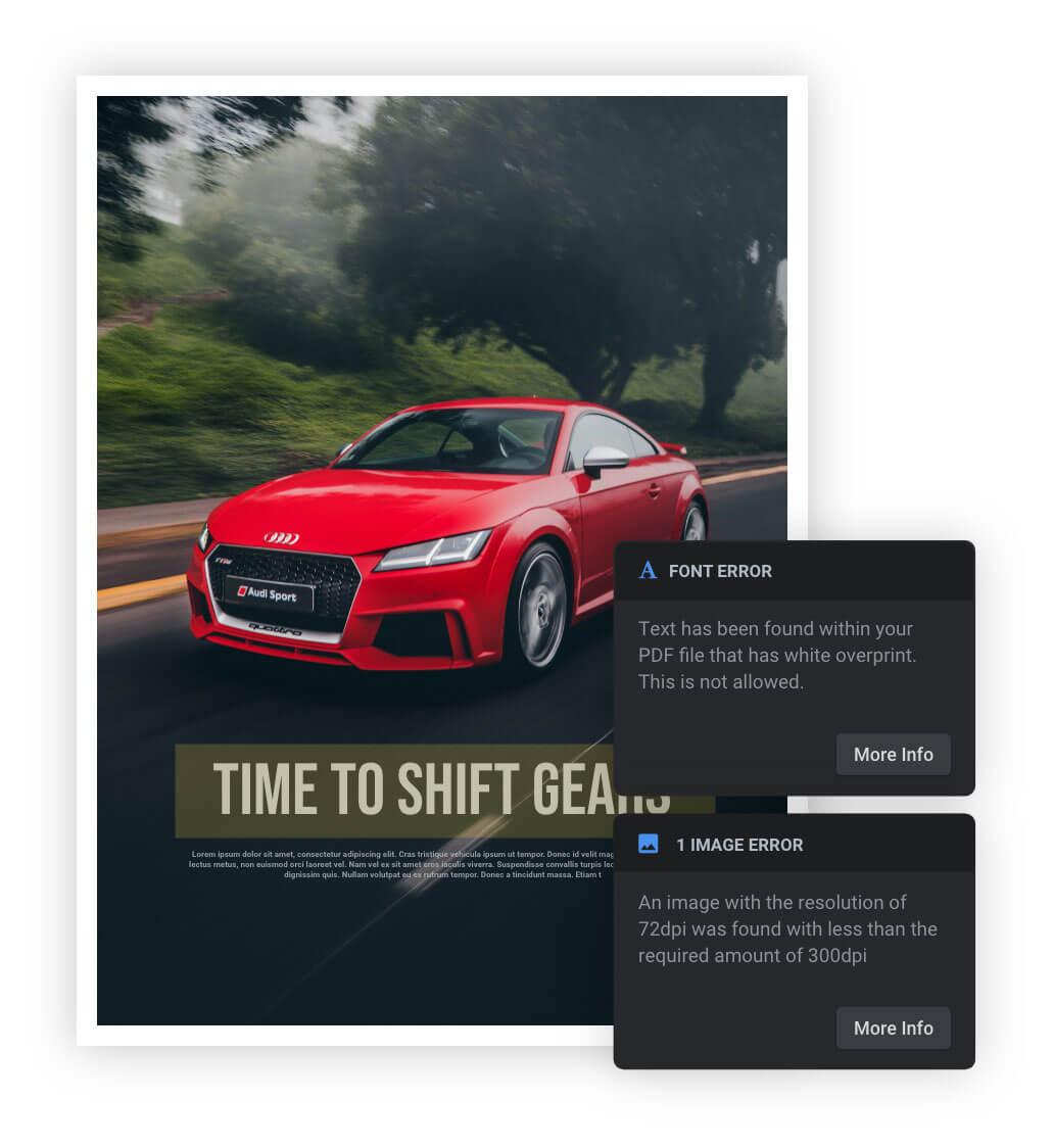 Interactive Preflight Reports